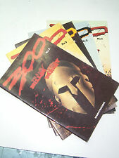 300 Complete Set LOT OF 5 Issues First Printings GREEK Frank Miller COMIC BOOKS