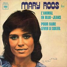 "7"" Mary Roos – L'Animal En Blue-Jeans // French 1972"