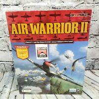 Air Warrior II Combat Flight Simulator (Win95 PC-CD ROM )  Big Box Game   NEW