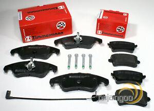 Audi Q5 [8R] - Zimmermann Bremsbeläge Bremsklötze für vorne hinten