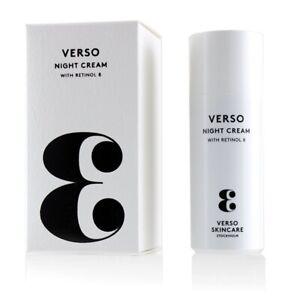NEW VERSO Night Cream 50ml Womens Skin Care