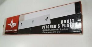 """All-Star Adult Pitcher""""s Plate 24""""x6"""""""