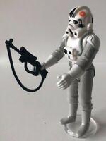 Star Wars Vintage Mint White At-At Driver with Original Blaster LFL 1980 HK