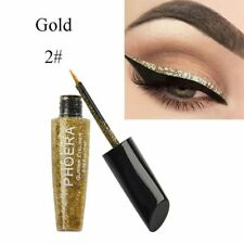 Waterproof Shimmer Eyeshadow Glitter Liquid Eyeliner Metallic 10 Colors Cosmetic A2