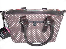 LUVALI CONVERTIBLE HANDBAG BAG TOTE BROWN EYED GIRL CLASSIC 3-1 SATCHEL PURSE 75
