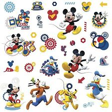 DISNEY MICKEY MOUSE CLUBHOUSE 31 Wall Decals Pluto Room Decor Sticker Decoration