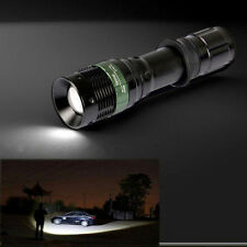 XM-L T6 Zoomable 2000 Lumen Tactical LED Flashlight Torch Lamp