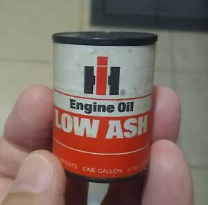 """Rare INTERNATIONAL HARVESTER """"Miniature"""" LOW ASH OIL CAN....MYSTERY ITEM!"""