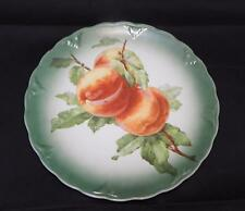 "Antique Petrus Regout & Co Maastricht HOLLAND Peaches Decorative 9 ½"" Plate"