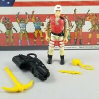 Original 1994 GI JOE LIFELINE V4 ARAH not COMPLETE figure UNBROKEN Cobra