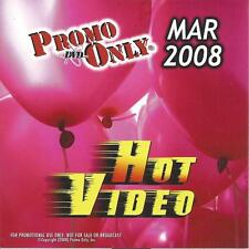 PROMO ONLY- New, DVD HOT VIDEO MAR.-2008-Britney Spears,Maroon 5,Paul McCartney