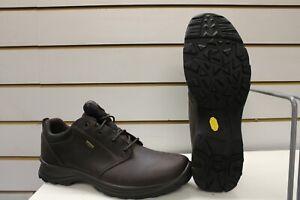Grisport Exmoor Waterproof Brown Leather Trekking / Walking Shoes UK 13 EU 48