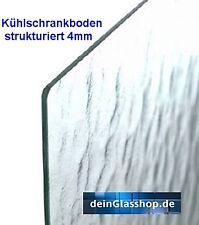 Kühlschrank-Platte Glasboden Einlegeboden Ersatzglas Glasplatte aus Echtglas St.