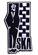 SKA 2 TWO TONE Embroidered Iron Sew On Patch MOD SKINHEAD PUNK OI REGGAE RUDEBOY