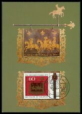 BRD MK 1979 TAG DER MARKE PFERDE REITER HORSE MAXIMUMKARTE MAXIMUM CARD MC bc61