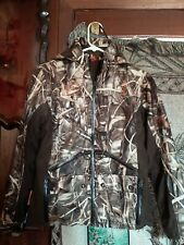 Womens Thermolite SHE CAMO Grn Brown Camouflage Jacket Hunting XS hooded Coat