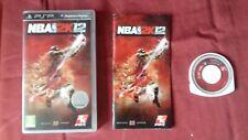 NBA 2K12 - Jeu Sony PSP Playstation -