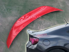 Painted #M7Y Pure Red duckbill trunk spoiler for 12~19 Toyota GT86 /FRS /BRZ◎