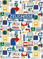 Veloflex 4402837 Sichtbuch School A4, Zeugnismappe, Zeugnisbuch, mit Motiv, 20 e