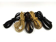 1 Meter High Quality GENUINE Flat LEATHER String CORD Thong DIY ~3MM/ 5MM/ 10MM~