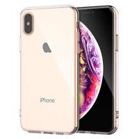 Für iPhone XS Max Crystal Transparent Durchsichtig Hülle Case Cover Dünn