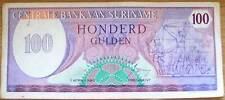 Suriname Surinam 100 Gulden 1982 Gebruikt/Used                  (5)