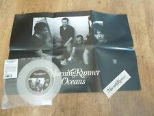 """Morning Runner 7"""" Clear vinyl single with poster and sticker - Oceans. 2006"""