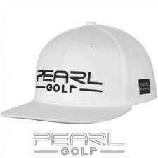 PEARLGOLF BASECAP - ARTWORK NO. 001 - GOLFCAP - WEIß