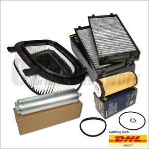 BMW X5 X6 E70 E71 xDrive30d/40d 245 PS & 306 PS Filterset Inspektionspaket 4-tlg