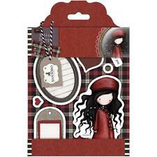 Gorjuss Girl SANTORO Cling Unmounted Rubber Stamp Set THE DREAMER GOR 907203 NEW