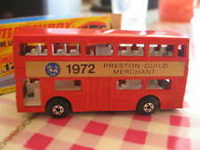 MiB Matchbox MB17 London bus - Preston Guild Merchant early 1970 promotional