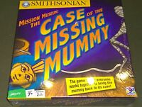 SMITHSONIAN - MISSION MUSEUM: THE CASE OF THE MISSING MUMMYNIB Sealed