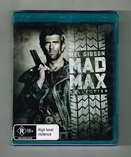 Mad Max Trilogy Blu-ray (3-Movie Collection) Brand New & Sealed