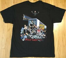 TOBY KEITH stage crew t shirt XL Holy Sh*t concert tour roadie local crew black