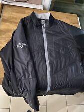 Callaway Golf Mens Swing Tech Quilted Full Zip Golf Jacket XL