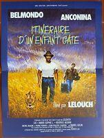 Plakat Route D'Un Kinder Gate - Claude Lelouch Jean-Paul Belmondo 40x60cm