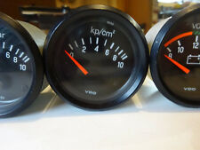 Porsche 924 944 Öldruck Volt Öltemperatur Instrument VDO Gauge 52mm Original