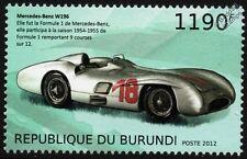 1954-55 Mercedes Benz W196 Fórmula 1 (f1) Gp Race / Auto De Carreras Sello (2012)