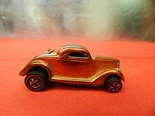 Mattel Hot Wheels Redline Orange Classic 36 Ford coupe! collectibles!