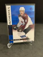 2019-20 SP Hockey Rookie Authentics Blue RC Parallel CALE MAKAR -Avalanche RC