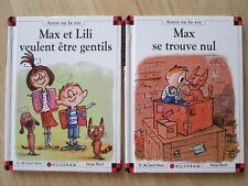 MAX ET LILI VEULENT ÊTRE GENTILS~MAX SE TROUVE NUL~de Saint Mars HC Lot 2~FRENCH