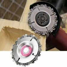 4 Inch Grinder Disc and Chain 22 Tooth Fine Cut Chain For 100/115 Angle Grinder