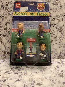 Figures Of Football / Figuras Del Futbol FC Barcelona Soccer - BanDai Spain 1997