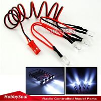 RC 5mm Led lights W/ JST Plug For RC4WD Axial Crawler Truck Truggy Upgrade Parts