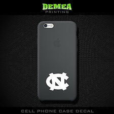 UNC - Cell Phone Vinyl Decal Sticker - iPhone - Choose Color (X2)