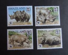 Swaziland 1987 White Rhino SG529/32 MNH UM unmounted mint