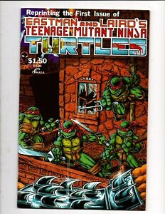 REPRINTING the FIRST ISSUE EASTMAN LAIRD TEENAGE MUTANT NINJA TURTLES 4th PRINT