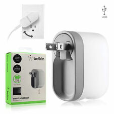 Authentic Universal Belkin USB 2.1 AMP Swivel Travel Wall Charger Adapter