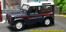 LAND ROVER 90 POLICE 1:43 Car Carabinieri Model Die Cast Metal Models Miniature