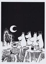 Moomin Poster 24 x 30 cm Tooticky e Moomin Famiglia